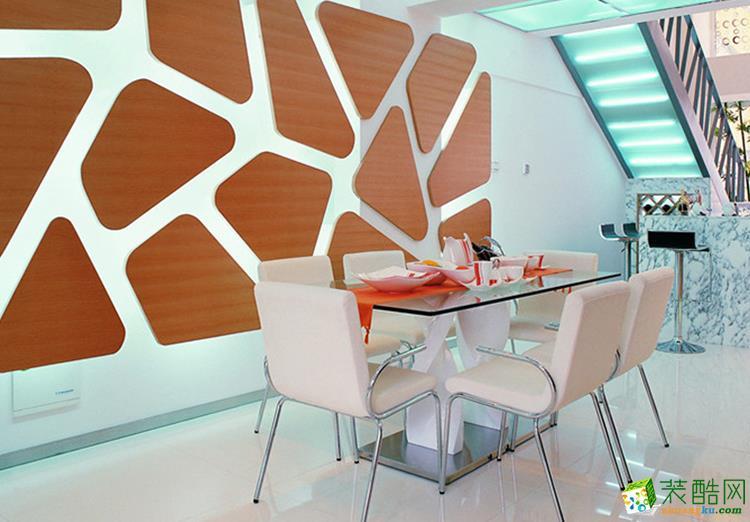 90平米三居室混搭风格装修效果图