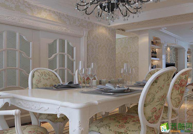 90平米三居室欧式风格装修效果图