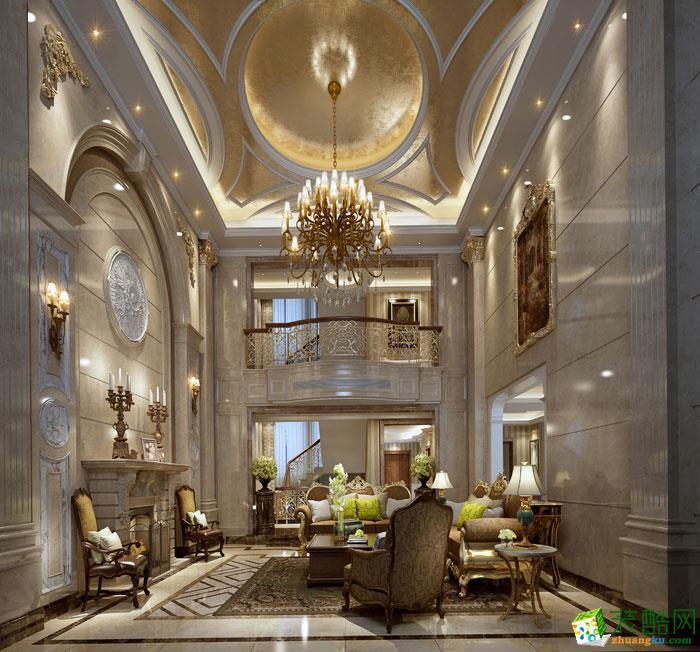 星岛花园450方独栋别墅欧式风格设计作品