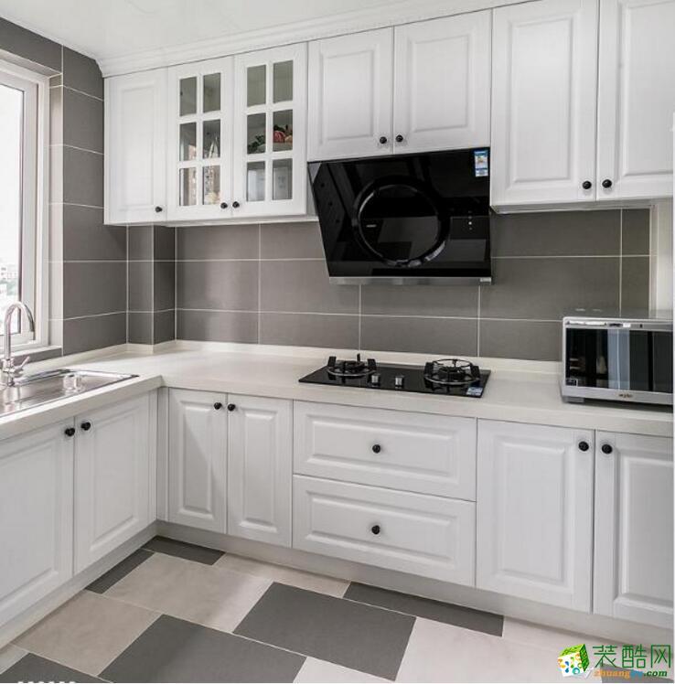 南宁一室一厅一卫装修—盛邦珑湖60平现代简约风格装修效果图