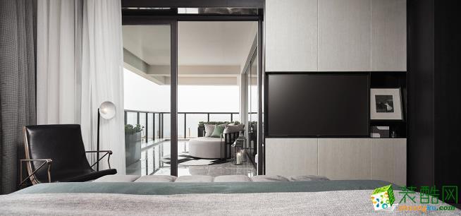 【朝博装饰】四居室现代风格装修案例