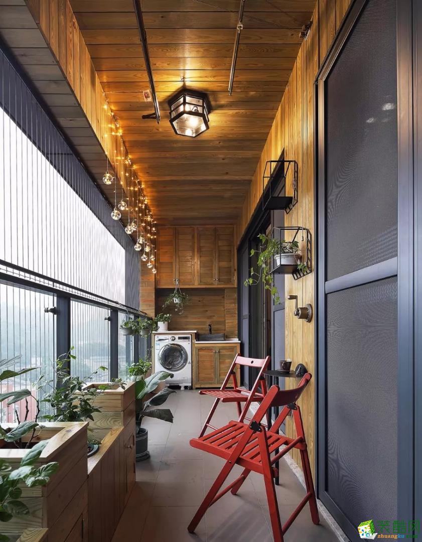 远洋新汉口117�O三室两厅一卫现代风格装修设计作品