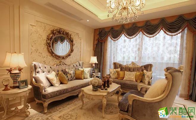 180�O欧式风格别墅装修设计案例――和轩装饰