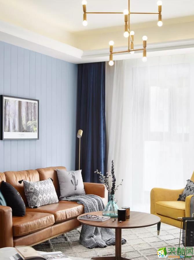110�O北欧风格装修设计案例――和轩装饰