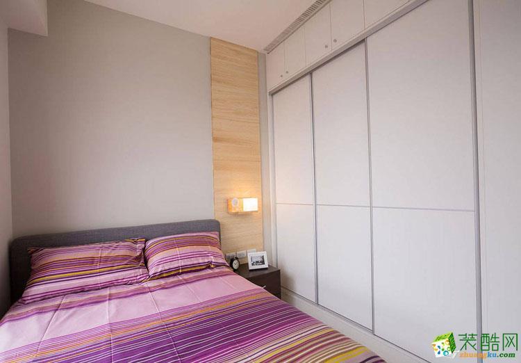 100三居室现代风格装修效果图
