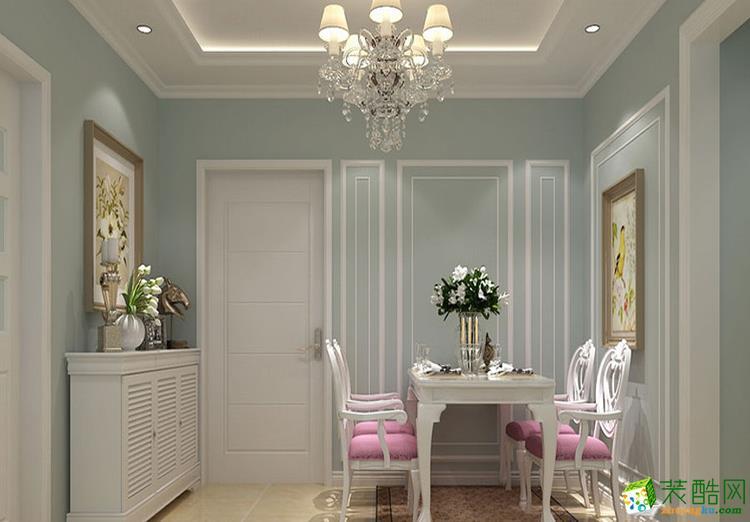 70平米二居室欧式风格装修效果图