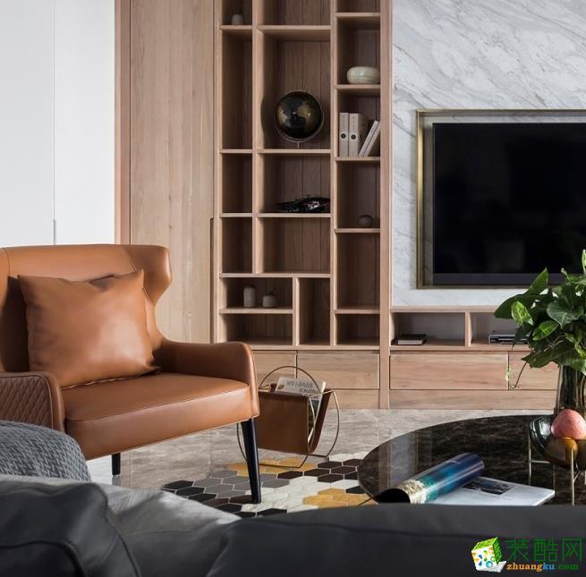 【元洲装饰】三居室现代风格装修案例
