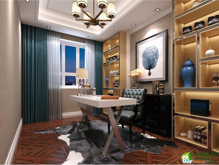南宁四室两厅两卫装修―圣都装饰180平豪华装修效果图