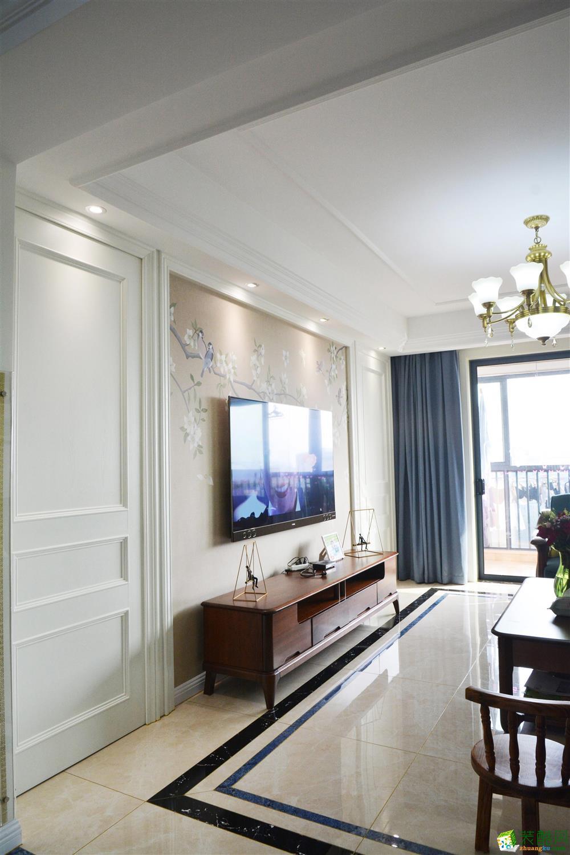 昆明160平三室两厅乡村美式风格