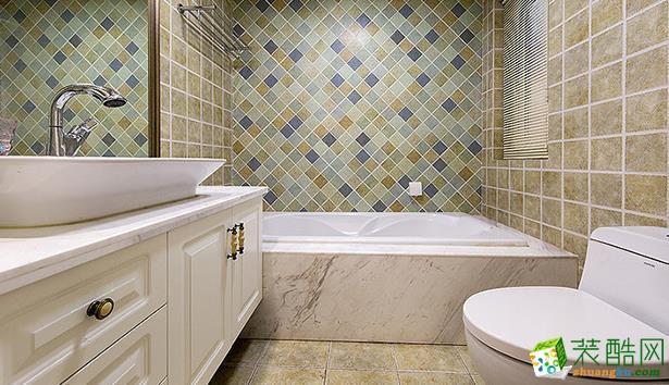 无锡程度装饰-109平米美式三居室装修案例