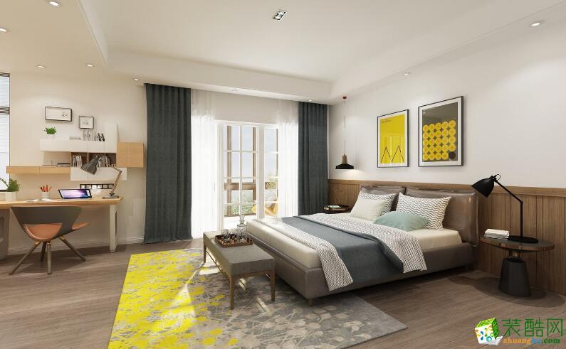 郑州三室一厅一卫装修―荣涛装饰90平现代简约风格装修效果图