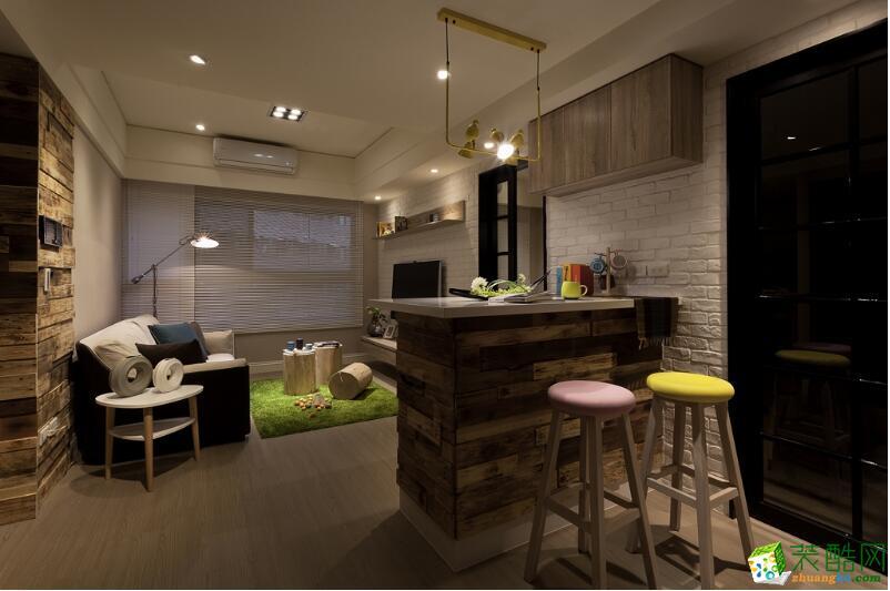 郑州一室一厅一卫装修―荣涛装饰60平现代风格装修效果图