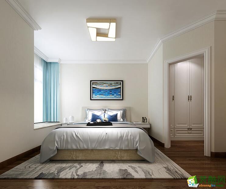 郑州四室两厅两卫装修―荣涛装饰200平现代简约风格装修效果图