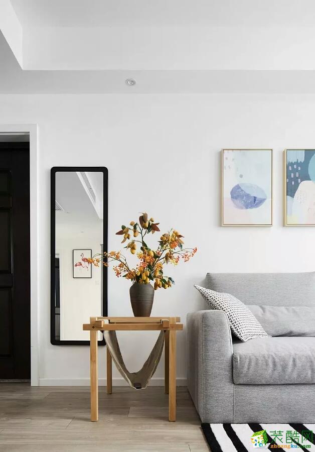 宁波江东仁和装饰设计工程有限公司-两室两厅一卫