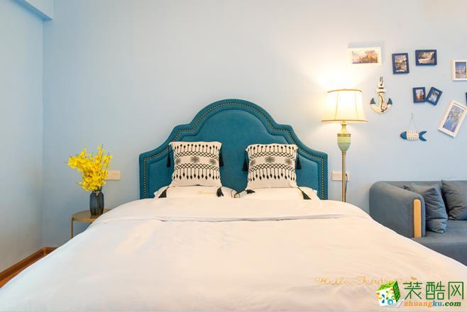 湖南時光澗裝飾設計40-60平一室一廳民宿裝修案例
