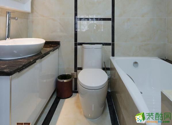 济南鑫彩鸿装饰-130平米美式三居室装修案例