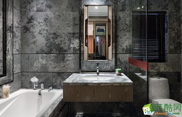 济南鑫彩鸿装饰-135平米中式三居室装修案例