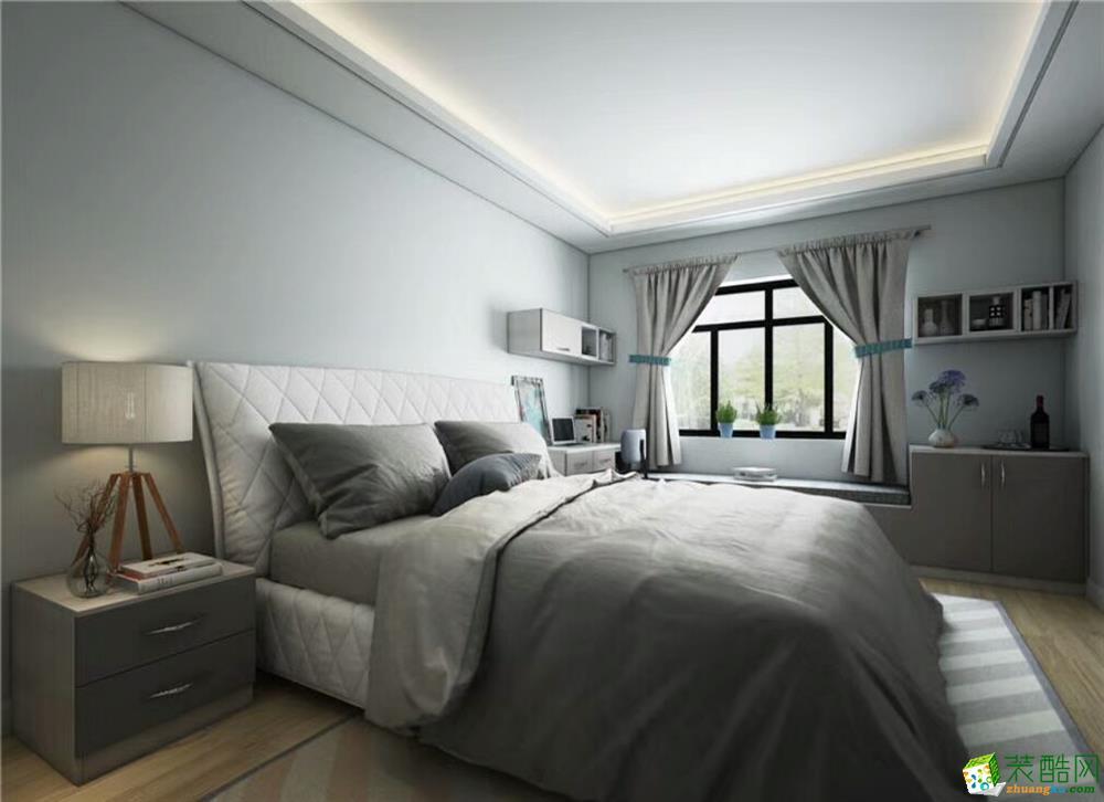 济南鑫彩鸿装饰-95平米两居室装修案例