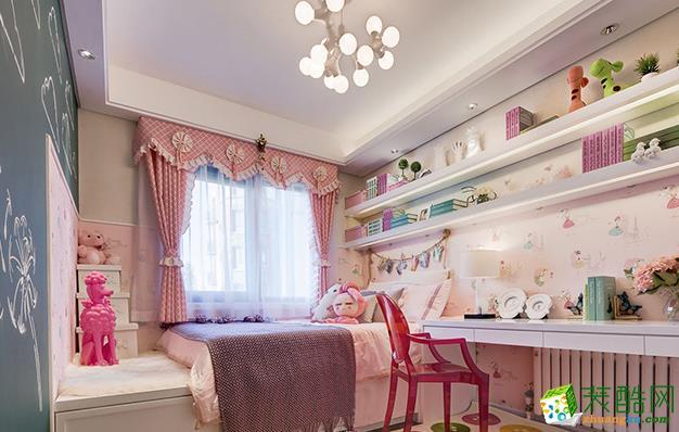 无锡格美利特装饰-115平米简约三居室装修案例