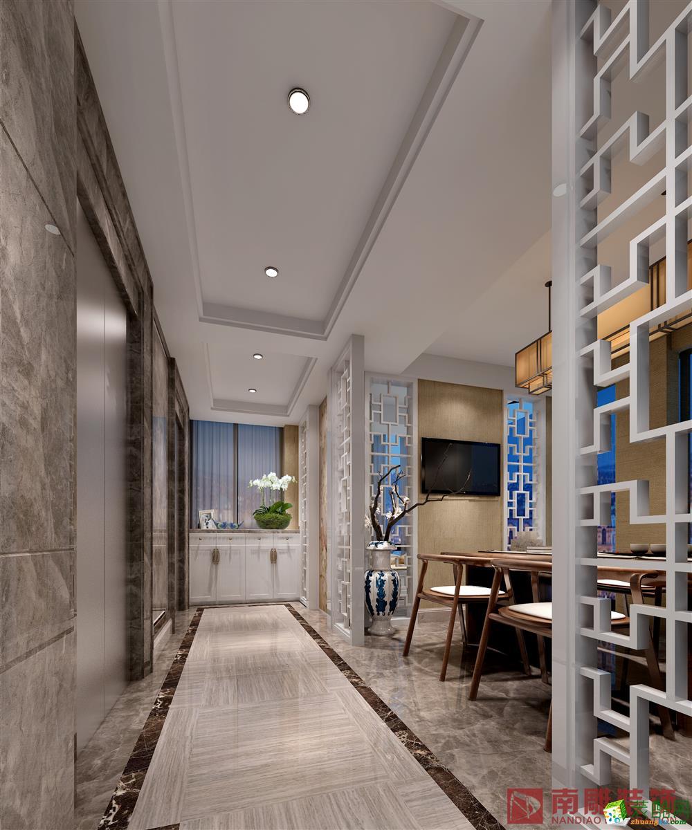 一半山135平米四居室现代简约风格装修效果图