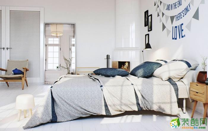无锡绿丰装饰-90平米北欧两居室装修案例