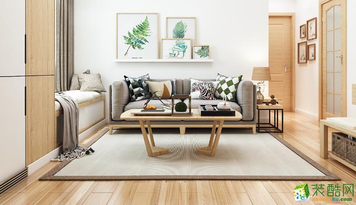 无锡绿丰装饰-105平米日式三居室装修案例