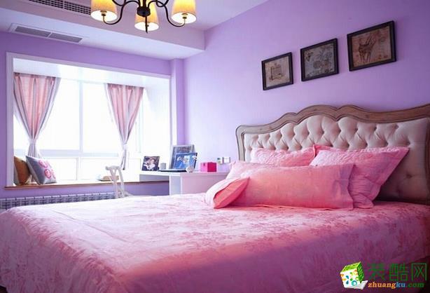 无锡绿丰装饰-90平米田园两居室装修案例