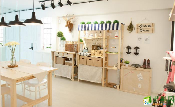 无锡绿丰装饰-128平米现代三居室装修案例