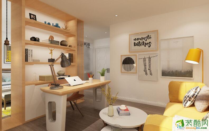 南宁两室一厅一卫装修—喜来登装饰80平现代风格装修效果图