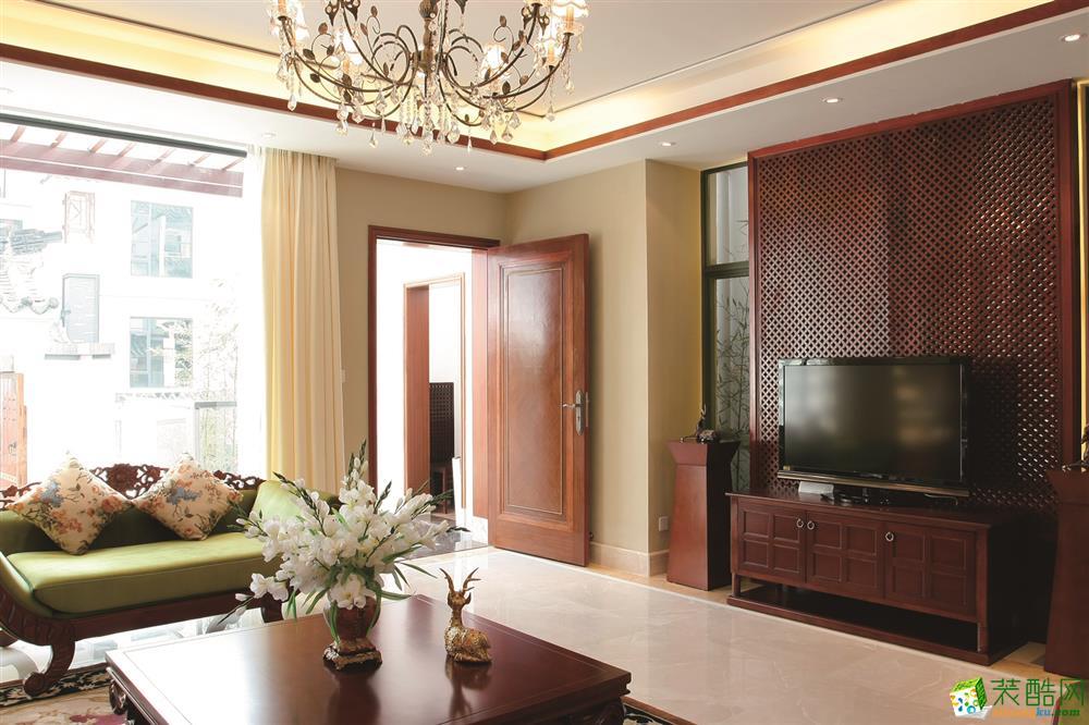 永申装饰-泰悦首府东南亚风格120平装修案例效果图