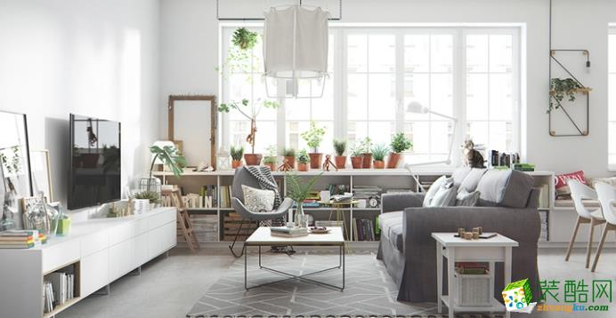 济南九创装饰-95平米北欧两居室装修案例