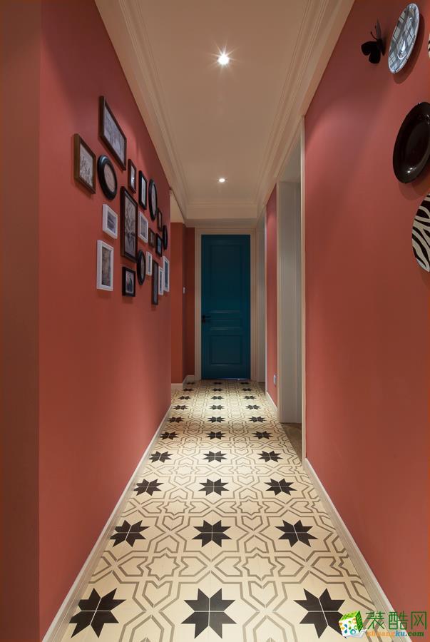 宜庆装饰-恒大山水城99平方装修案例效果图_欧式风格-三室一厅一卫