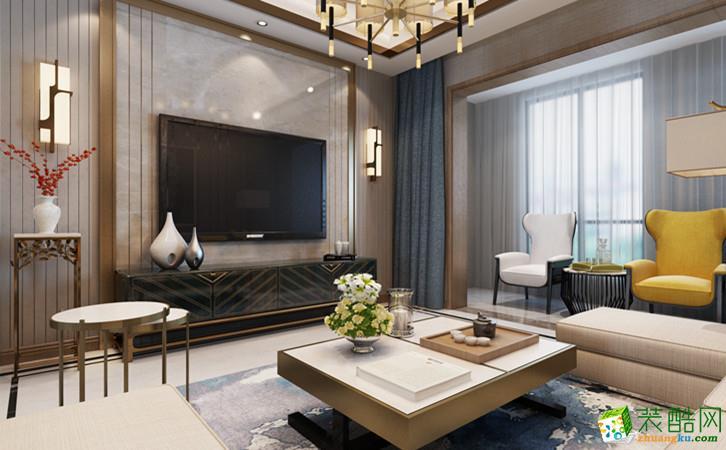 高新天琴湾三居室现代设计