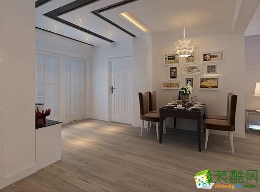 济南大业美家装饰-115平米现代简约三居室装修案例