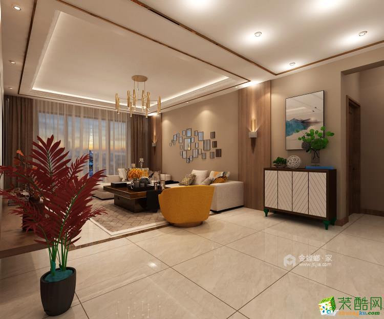 138平大三居室,新婚房告诉你如何装修