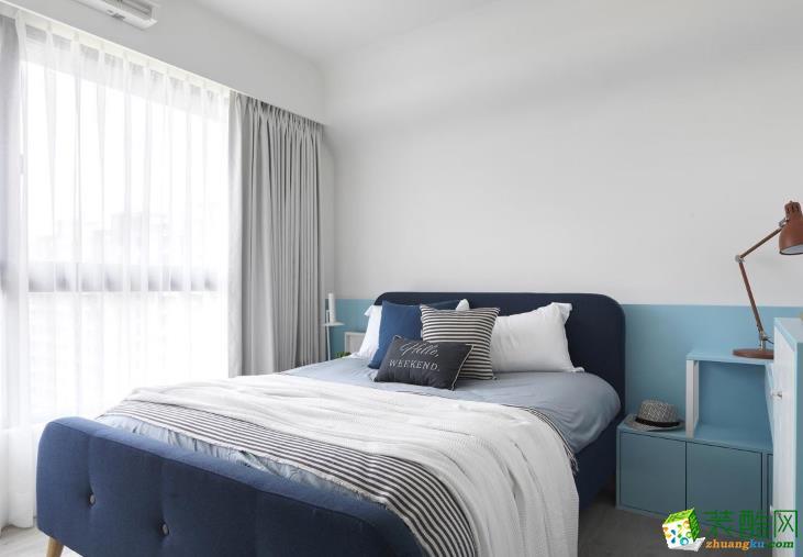 济南华翔装饰-鼎秀家园110平米简约三居室装修案例