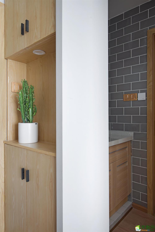 成都两室一厅装修-现代城89平米简约风格装修效果图赏析。 成都现代城