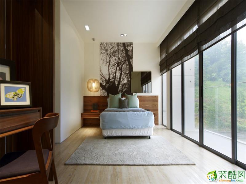 卧室  吉星源装饰-200平现代别墅装修-东钱湖自建房
