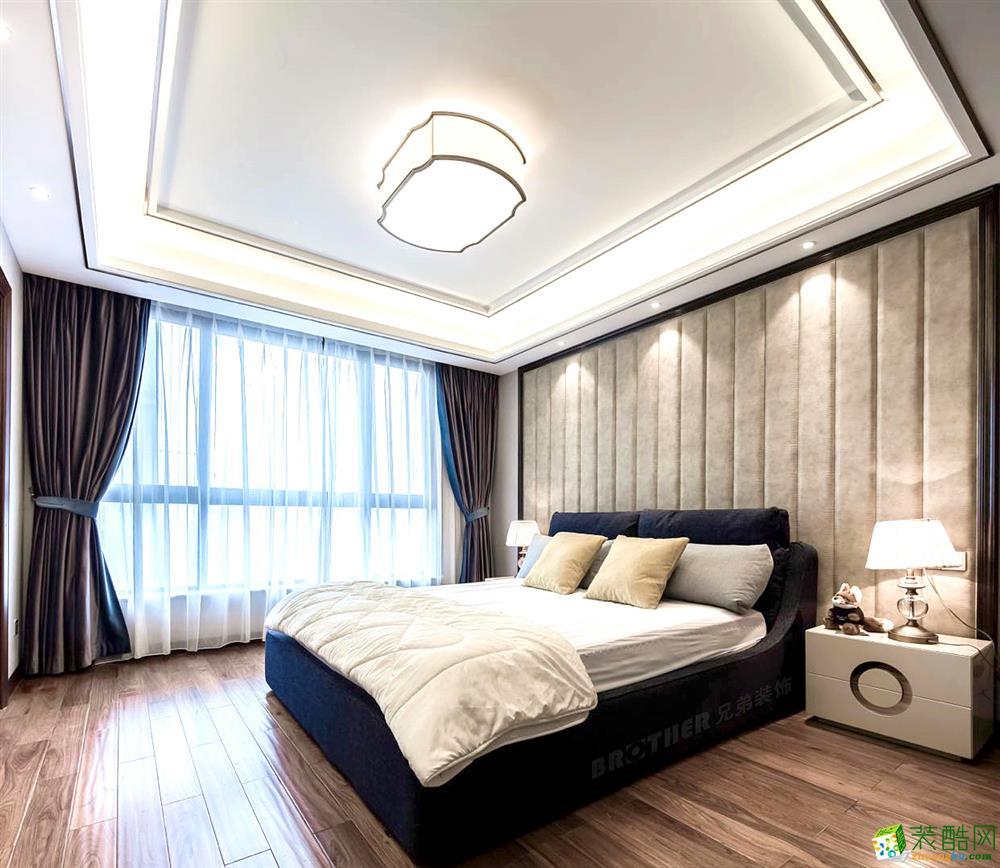 重庆四室两厅装修-融景城125平米现代风格装修效果图赏析-兄弟装饰