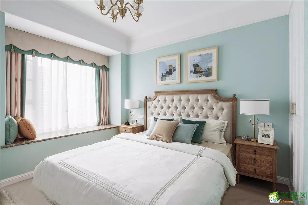 維享家裝飾100平米三居室美式風格裝修效果圖