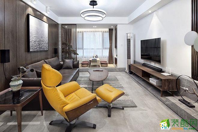 现代风-二居室装修案例