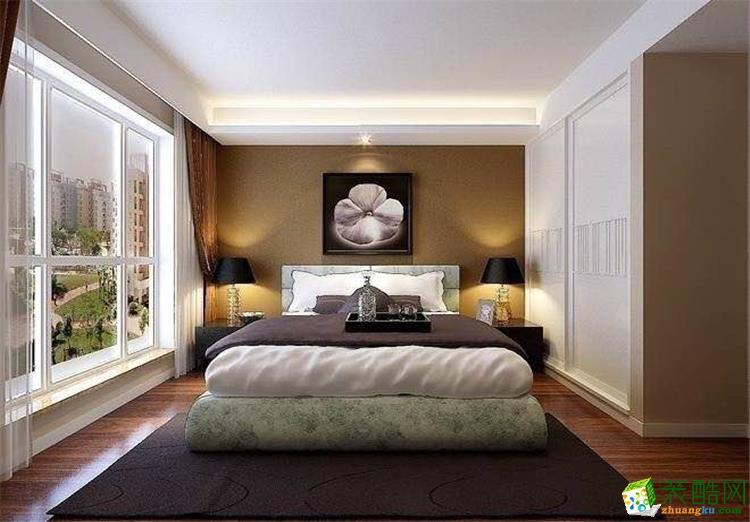 100平米14万三居室欧式风格装修效果图