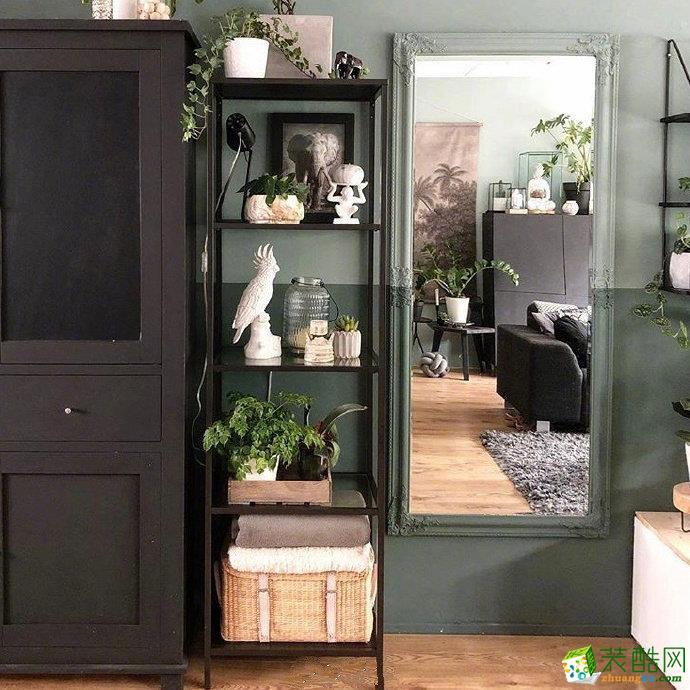 重庆两室两厅装修-北欧风格68平米实景装修效果图赏析-维享家装饰