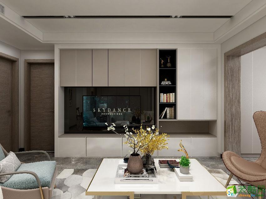 尚都国际152方四室两厅现代简约风格装修设计效果图