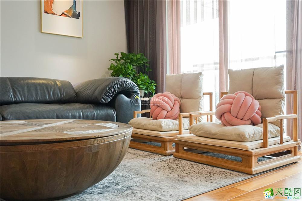 锦东花园-现代风格-三居室