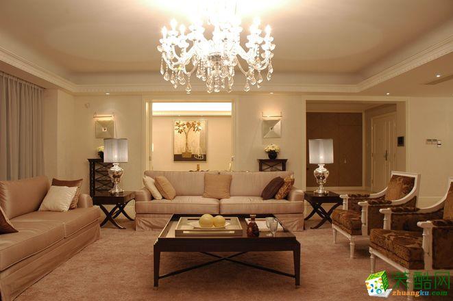 四居室-欧式风格装修案例效果图