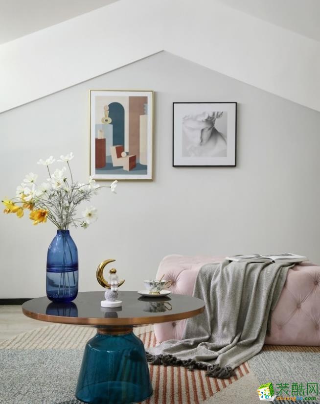 软装饰  昆明400平别墅装修案例图-紫苹果装饰