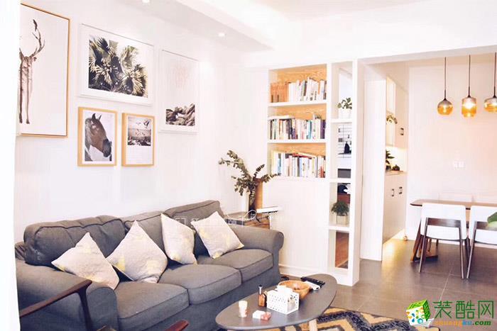万科金域缇香北欧来两居室装修案例