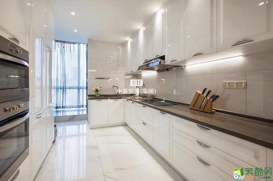 厨房  昆明青瓷大宅290平别墅装修案例图-中策装饰