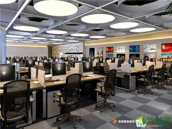成都寫字樓裝修設計-仁恒置地超甲寫字樓成都辦公室裝修